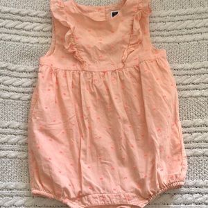 Like new Janie and Jack romper bubble